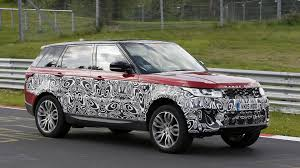 range land rover land rover range rover sport spied with refreshed face