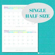 free printable calendar 2 months per page calendar template 2017