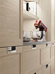 Modular Kitchen Furniture by Modular Kitchen With Integrated Handles Lux Classic By Snaidero