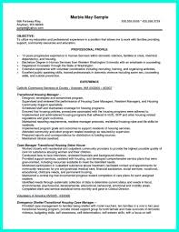 Manager Resume Objective Examples by Inspiring Case Manager Resume To Be Successful In Gaining New Job