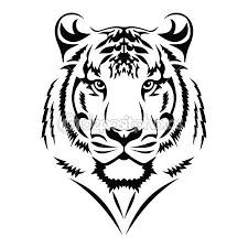 tribal tiger tiger stock vector