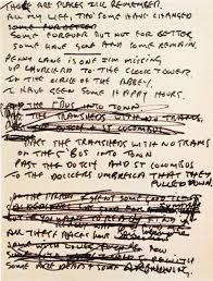biography of john lennon in the beatles john lennon s draft lyrics for in my life the beatles bible