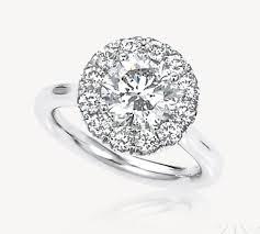 plain band engagement ring diamonds halo engagement ring with plain band