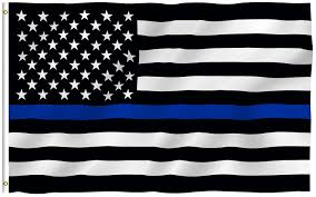 Clemson Flags Police Usa Thin Blue Line Flag Flagnations