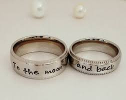 wedding rings for couples wedding bands etsy