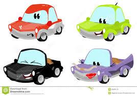 cartoon car cute cartoon car characters stock illustration image 20039178