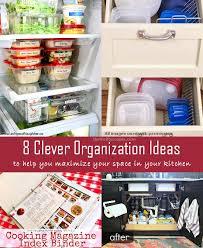 diy kitchen organization ideas 8 clever kitchen organization ideas