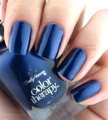 the happy sloths sally hansen color therapy nail polish review