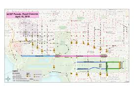 Washington Dc Area Map by Map Cherry Blossom Festival Street Closures Curbed Dc