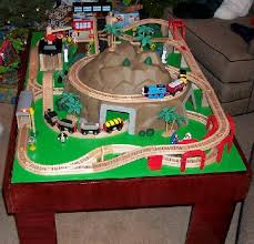 How To Build A Toy Train Table Or A Play Activity Table Easy To Do