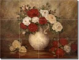 Ceramic Tile Mural Backsplash by 39 Best Tile Murals For Kitchen U0026 Baths Images On Pinterest