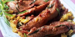 canard cuisine filets de canard sauce à l estragon facile recette sur cuisine