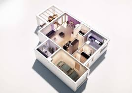 2 floor house 3d floor plan u2013 viscato