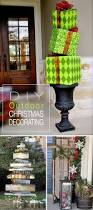 Diy Outdoor Lawn Christmas Decorations Best 25 Diy Outdoor Christmas Decorations Ideas On Pinterest