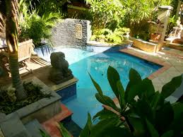 Backyard With Pool Landscaping Ideas by Backyard Landscaping Ideas Swimming Pool Design Homesthetics Arafen