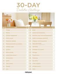 30 day declutter challenge popsugar smart living