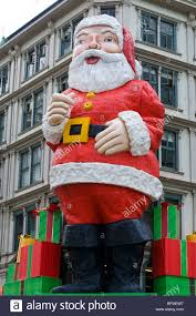 iconic father christmas outside whitcoulls book shop queen street