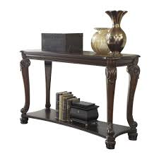 Ashley Sofa Table by Signature Design By Ashley T519 4 Norcastle Sofa Console Table