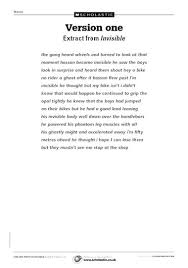 punctuation and paragraphs u2013 compare versions of a story u2013 free