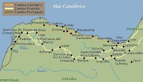 santiago de compostela camino camino de santiago mapes camino de santiago