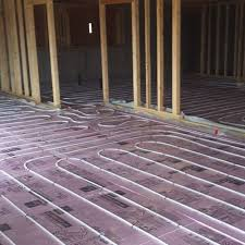 eugene hydronic radiant floor heating installation offered by buck