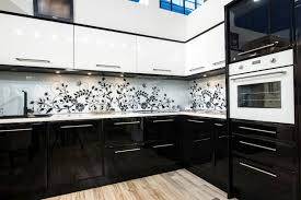 cuisine noir et cuisine noir et blanche 5 photo 38361 newsindo co
