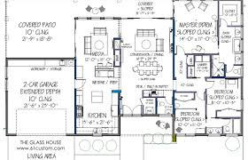 modern contemporary house floor plans house plan plans contemporary modern floor one story ranch style