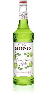 granny smith apple syrup monin
