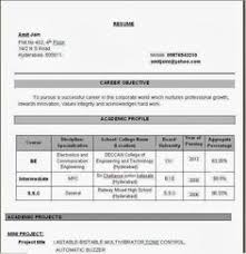 Job Resume Formats by 100 Resume Format For Experienced Sample Template Example Of