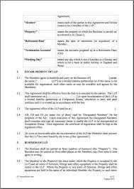 partnership agreement template free partnership agreement