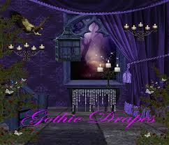 Digital Backdrops Digiart By Kayshalady Digital Fantasy Backgrounds Gothic Drapes