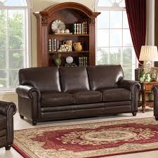 Amax Leather Furniture High Quality Top Grain Leather At Westland And Birch Coventry Top Grain Leather Sofa U0026 Reviews Wayfair