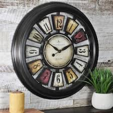 home decor wall clocks clocks wall decor home decor kohl s