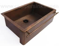 copper apron front sink hammered copper apron front sink love it this site also has all
