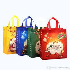 christmas shopping bags large capacity shopping bag of christmas non woven gift bags high