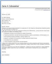 sample cover letter executive assistant lukex co