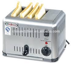 Commercial Conveyor Toaster Stainless Steel Electric Hamburger Bun Toaster Buy Hamburger Bun