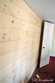 shiplap diy shiplap vs planked wood walls h20bungalow