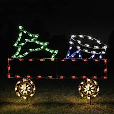 train christmas lights outdoor home decorating interior design