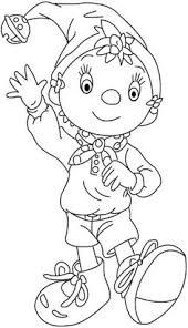 noddy coloring pages 7 coloring pages kids