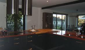 cuisine bi couleur cuisine bi couleur cheap amazing style moderne armoires de cuisine
