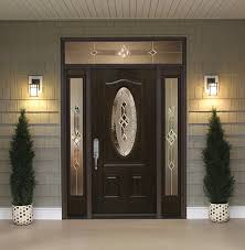 Interior Entry Doors Front Doors With Sidelights And Transoms Feldco Inside Entry Door
