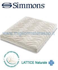 offerta materasso lattice simmons expression materasso in lattice naturale prezzi in offerta