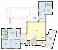 Plan De Maison Antillaise Les Meilleurs Plans De Maison Plan Maison En L 4 Chambres