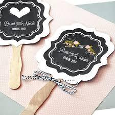 church fans personalized wedding fans wedding favors rustic wedding fans chalkboard