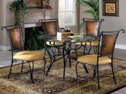 25 best of terrific kitchen round iron and wood dining table