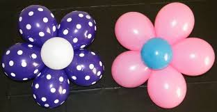 Balloons On Sticks Centerpiece by Balloon Flower Youtube