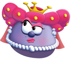 veggie tales diva queen blueberry veggietales it s for the kids wiki fandom