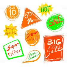 pack de imagenes hot hd pack de pegatinas de ventas vector mano dibujada colección super