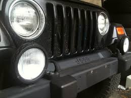 are there stone guards for oem fog lights jeep wrangler forum